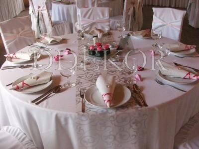 Ddekor Dekoration Von Rundem Tisch Dekoration Hochzeit